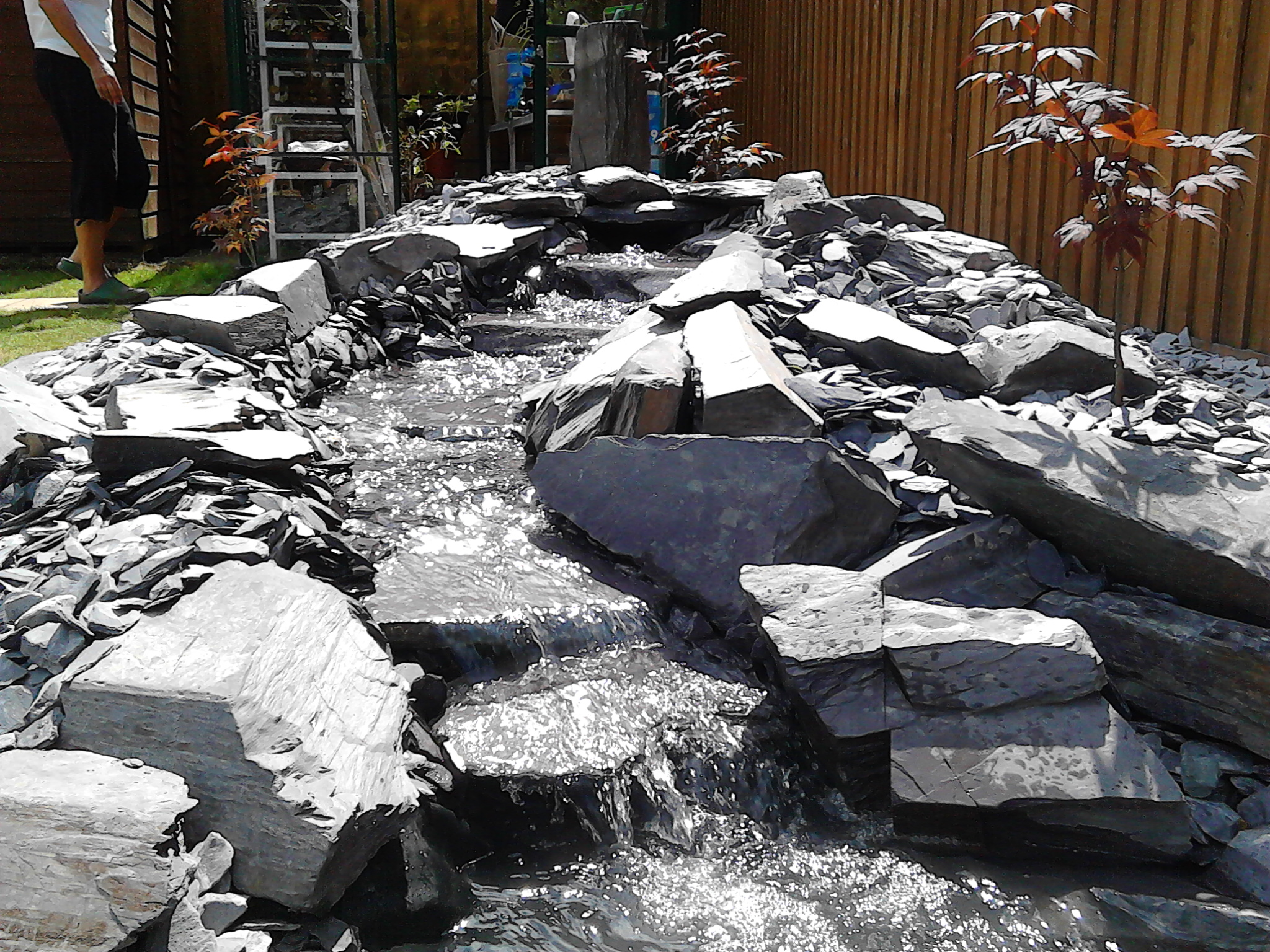 Pond Stars UK Ltd Natural Slate Stream Top