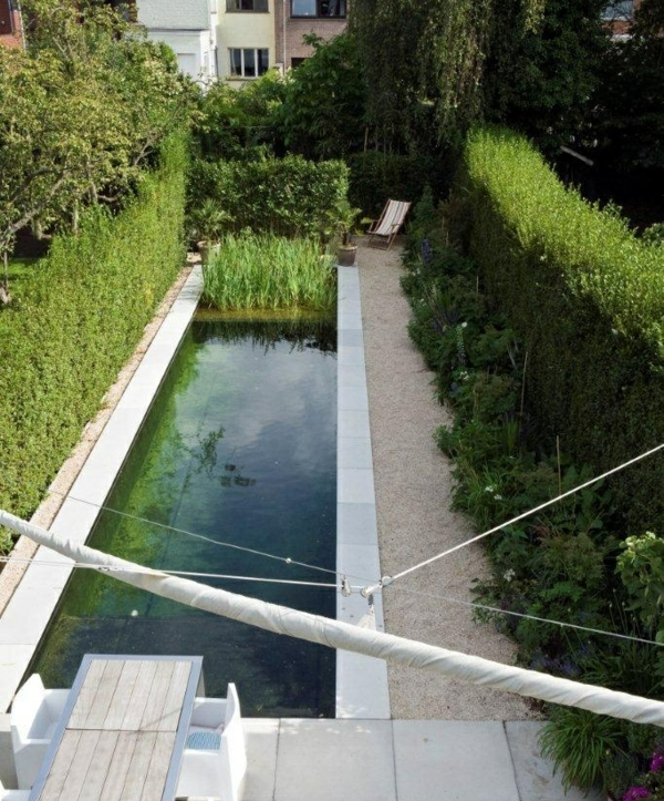 Slamm garden natural swimming pool pond stars uk for Plunge pool design uk