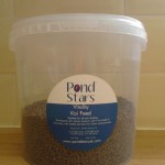 Koi feed perfect for feeding in the colder temperatures