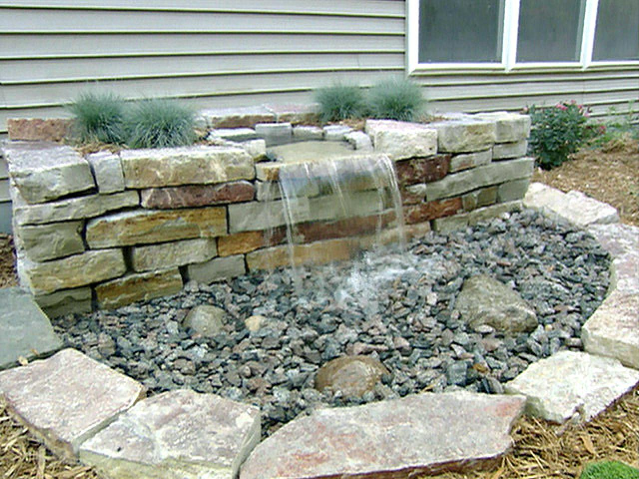 Pondless water features are great for small & large ...