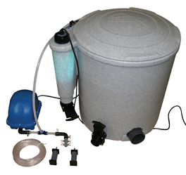Easy pod complete filter system for garden ponds for Complete koi pond filtration systems