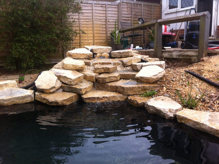 Merley Mission – Pond Renovatioin