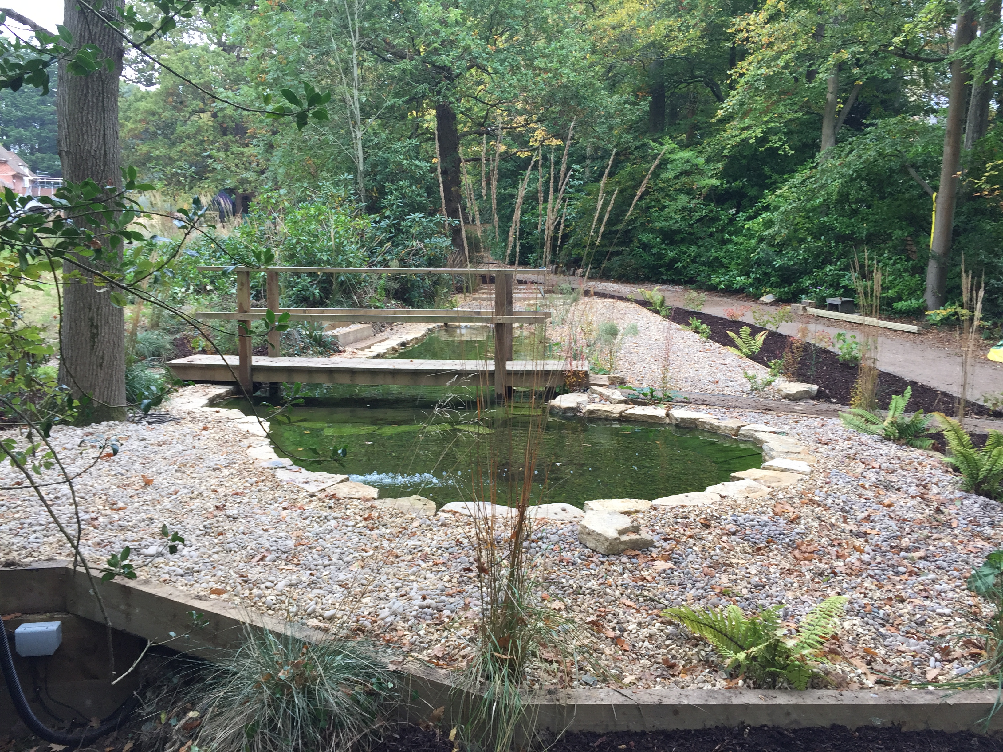 Koi pond construction pond stars uk ltd ditch to dream for Garden ponds uk