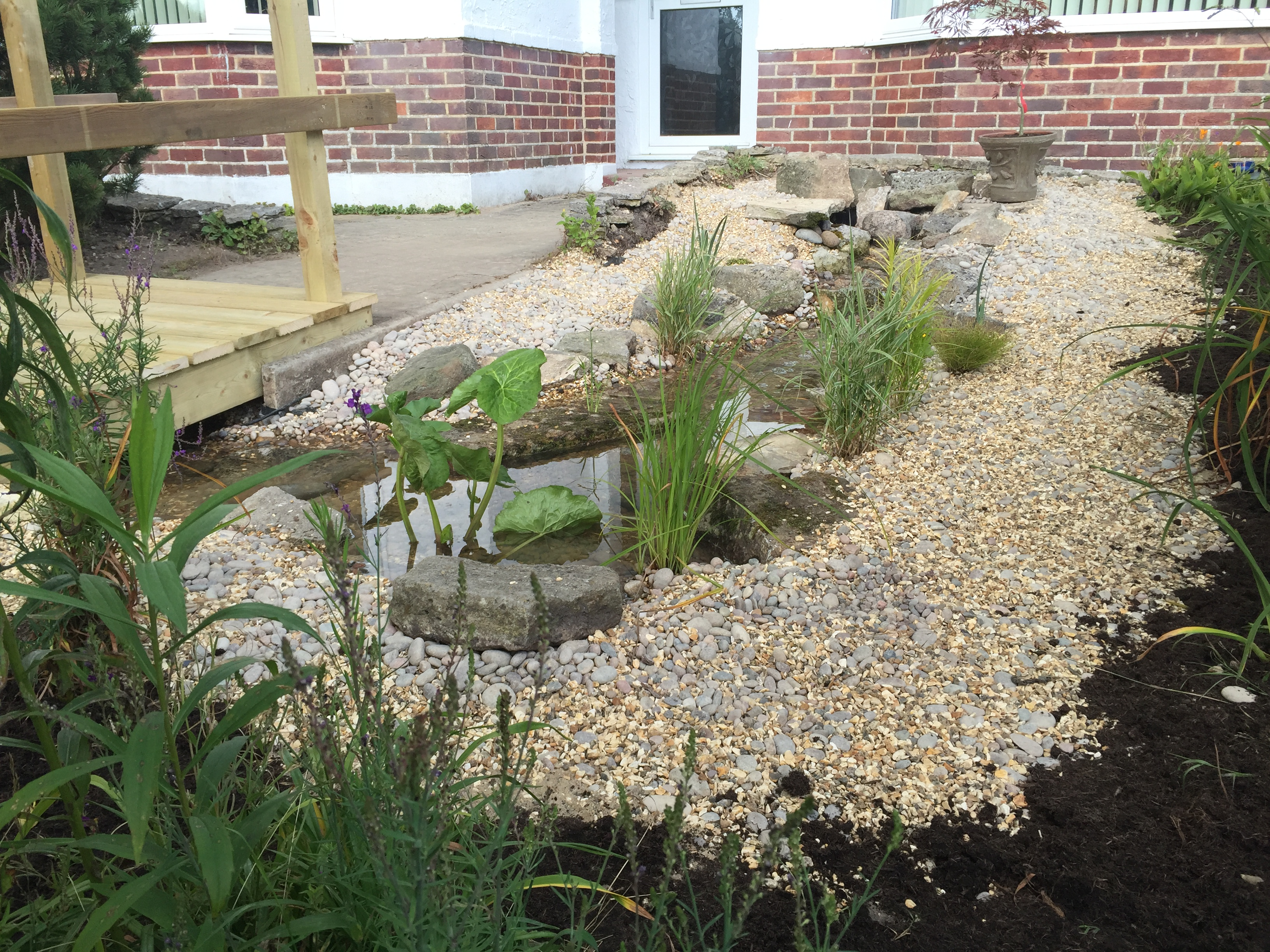 water feature renovation pond stars uk