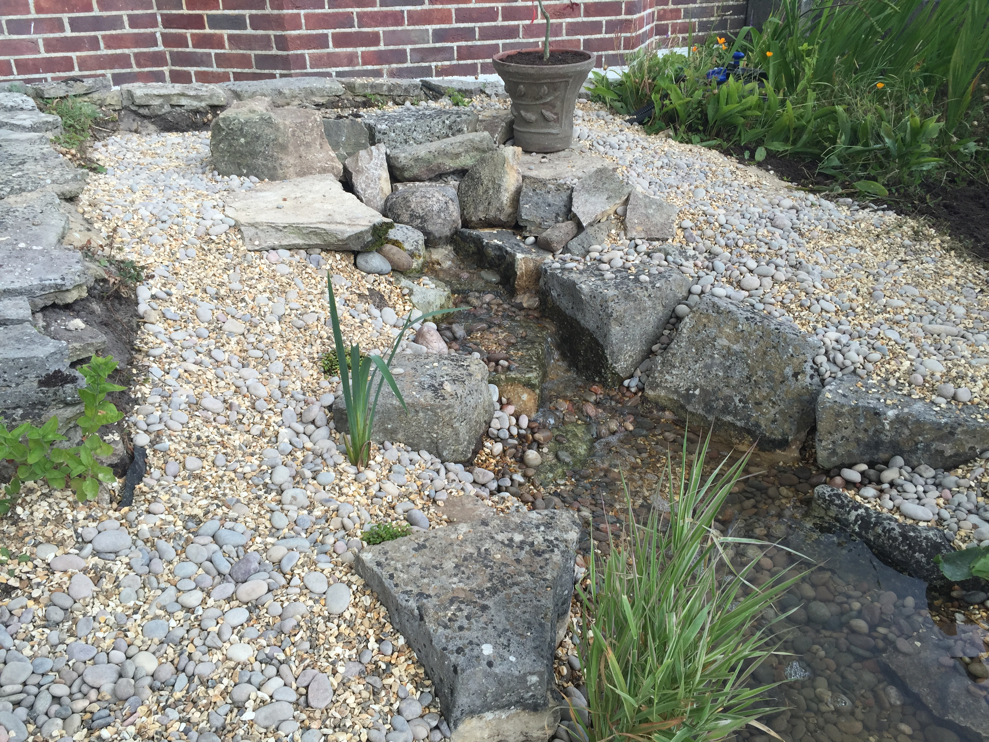 Alderney - Front Water Feature