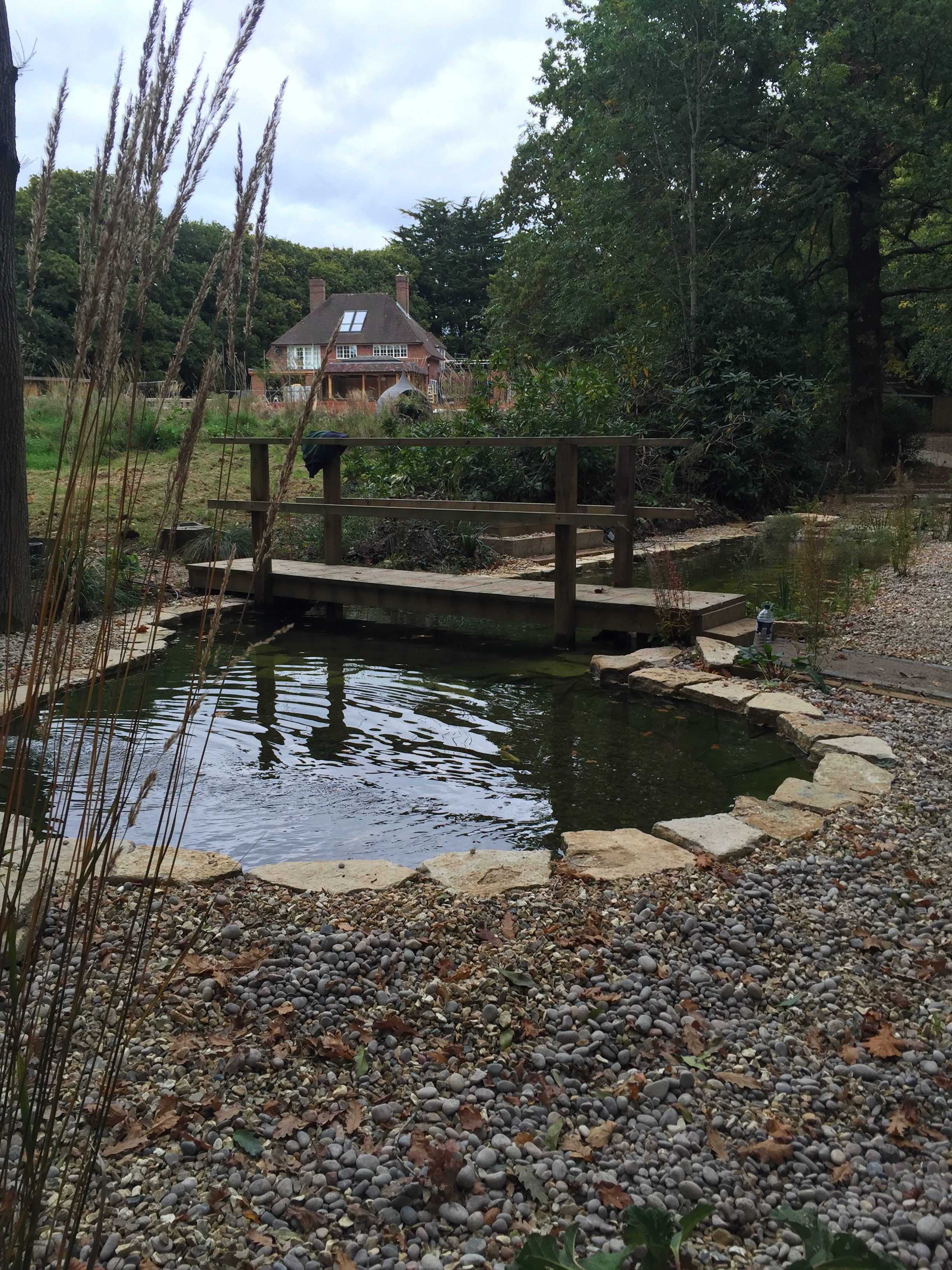 Koi Pond Construction - Pond Stars UK