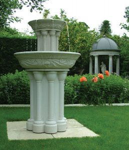stone cast water feature