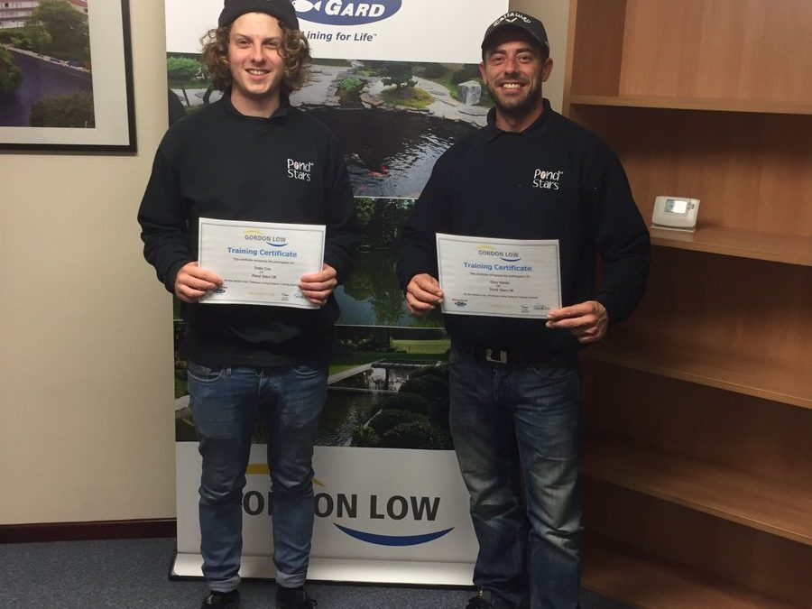 Gordon Low Installers Course – Completed with distinction!