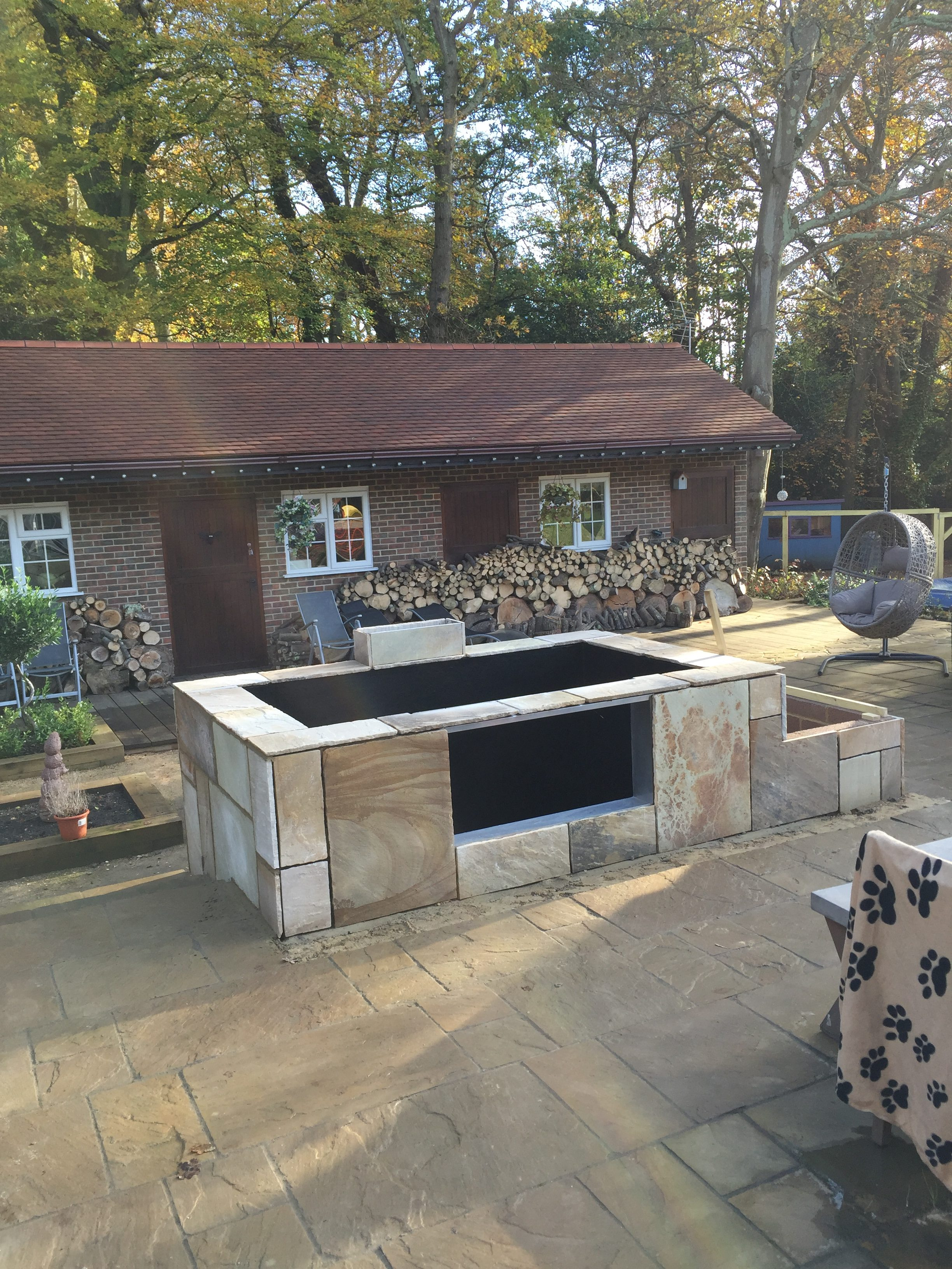 Raised Koi Pond - Pond Construction