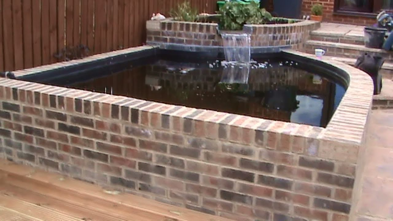 Pond design ideas raised koi ponds pond stars uk dorset for Concrete koi pond design