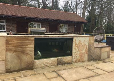 Raised Koi Pond – Fossil Feature